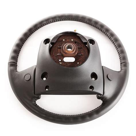jeep xj steering wheel omix ada 5fj14sx9 leather steering wheel for 95 96 jeep