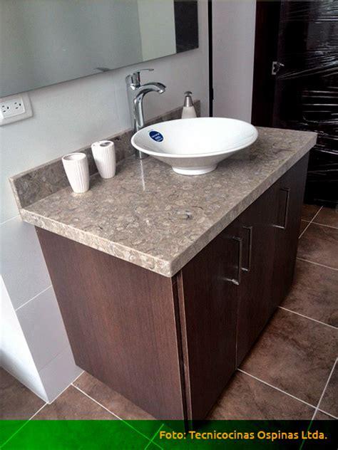 muebles de bano acabados en formica marmol  granito