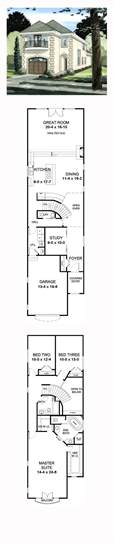 narrow home floor plans best 25 narrow house plans ideas on small