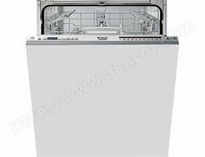 Lave Vaisselle Tout Integrable : hotpoint ariston ltf1m121oleu lave vaisselle tout ~ Nature-et-papiers.com Idées de Décoration