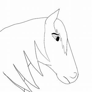 Best Photos of Horse Head Drawings Easy - How to Draw ...