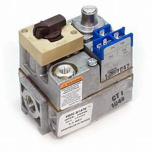 V800a1476 - Honeywell V800a1476 - Standard Pilot Gas Valve - 24v  2 U0026quot  X 3  4 U0026quot  Inlet  Outlet Size