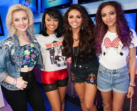 Jesy then went back to brown, Leigh rocked a stunning ...
