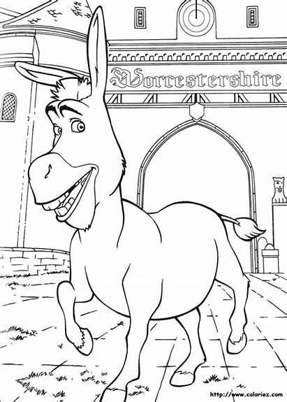 Shrek Colorir Coloring College Desenhos Coloriage Dibujos