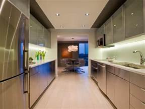 Galley Kitchen Remodel Idea Hgtv Galley Kitchen Design In Modern Living