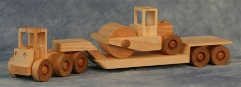 construction series tractor  lowboy  road roller