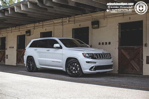 white jeep grand cherokee wheels jeep grand cherokee srt8 white cars hre wheels wallpaper