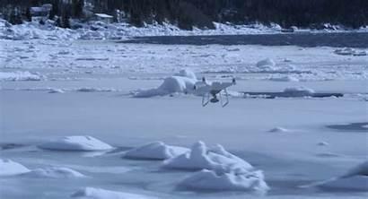 Winter Drone Flying Weather Cold Dji Phantom
