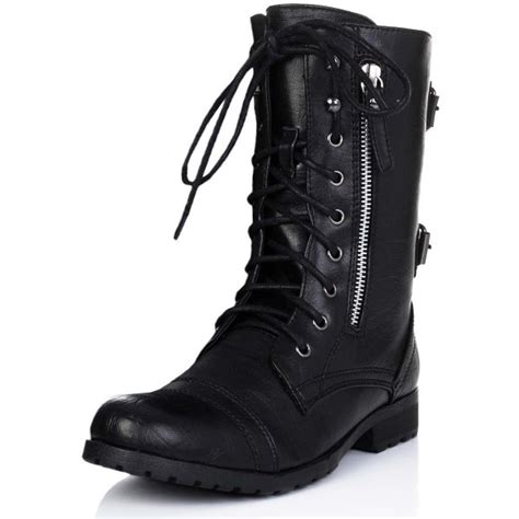 black lace up biker boots buy primal flat lace up ankle biker boots black leather
