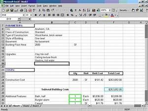 telecharger homecost estimator pour excel pour windows With budget construction maison excel