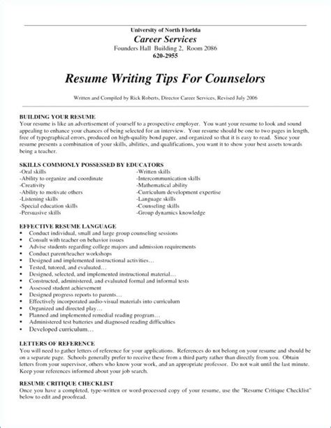 Chronological Resume For Stay At Home by 12 13 Resume For Returning To Workforce