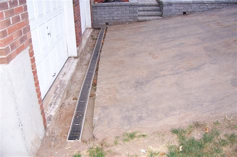 install driveway drain driveway drain installation country landscaping llc