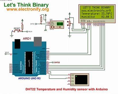 Arduino Sensor Temperature Humidity Uno Schematic R3