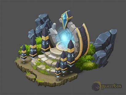 Portal Fantasy Isometric Behance