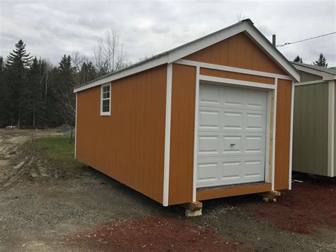 10 X 20 Garage by 10x20 Custom Garage 2 Sheds West Shed