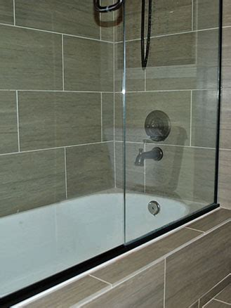 tub surround shower tile wall installation