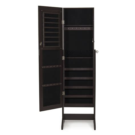 new mirrored jewelry cabinet mirror organizer armoire