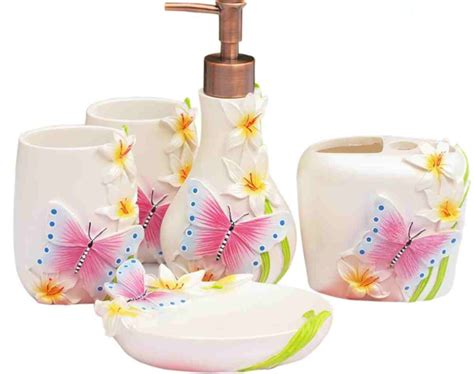 Girly Bathroom Accessories Sets by Bathroom Accessories