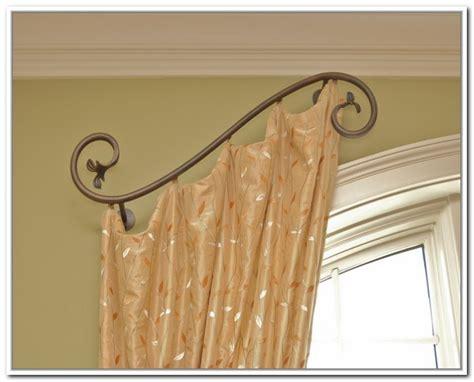 Kitchen Bay Window Curtain Ideas - various concept design of half curtain rods homesfeed