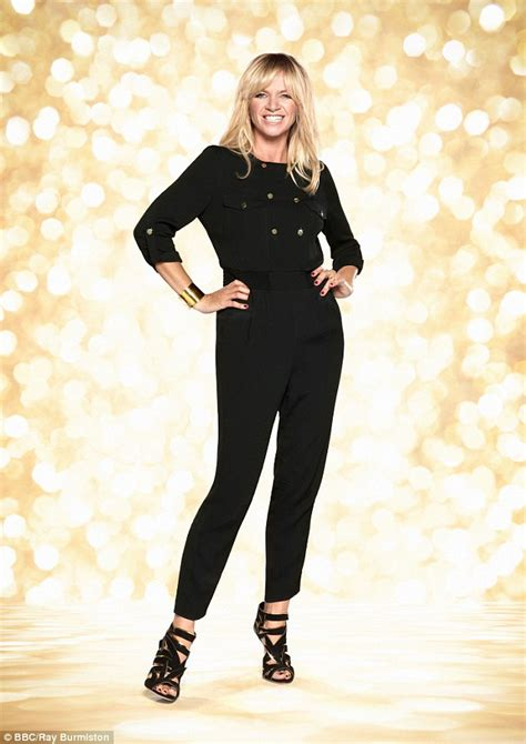Strictly Come Dancing's Zoe Ball looks a little ...