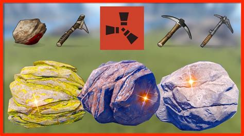 rust nodes gathering resource ores spawns academy rates farming