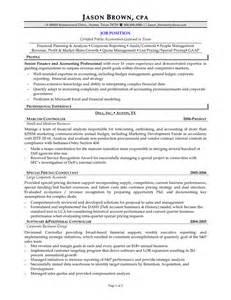 sle accountant resume pdf accounting audit resume sles