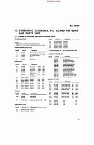 Pioneer Sx60 Service Manual Free Download  Schematics