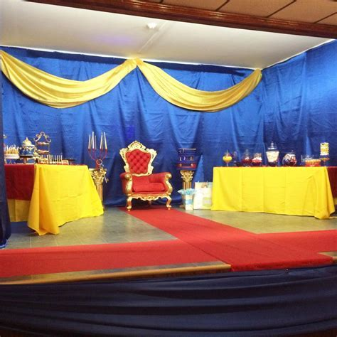 Royal Prince Baby Shower Theme by Lasting Impressions