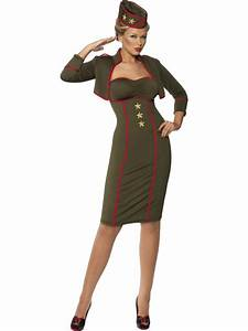 ladies sexy army military soldier uniform fancy dress war With robe militaire femme