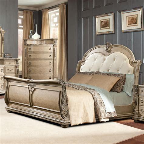 monaco king sleigh bed  davis international home