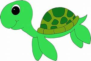 Cute Sea Turtle Clipart - Clipart Suggest