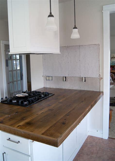 kitchen islands oak diy reclaimed wood countertop averie diy reclaimed