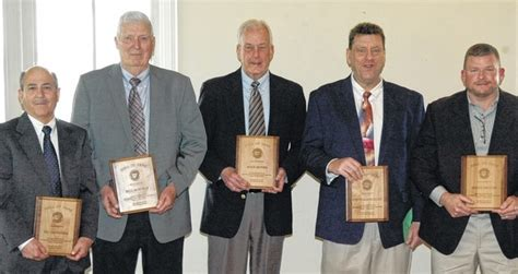 cavicchia inducted  district  hall  fame sunbury