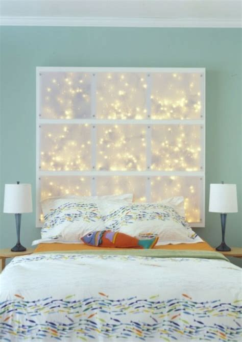 les meilleures id 233 es pour cr 233 er votre dosseret de lit illumin 233 archzine fr