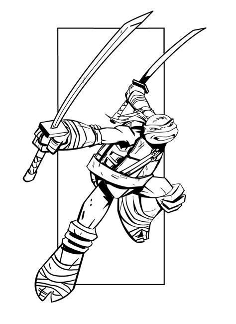 106 dibujos de Las tortugas ninja para colorear Oh Kids