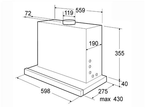 Dunstabzugshaube Einbau Umluft by 60 Cm Bauknecht Flachschirm Dunstabzugshaube Einbau