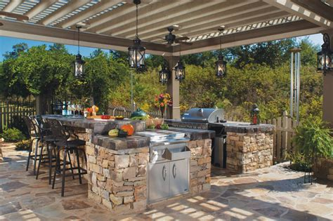 gorgeous outdoor kitchens hgtvs decorating design