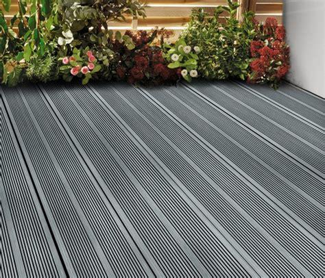 lame de terrasse composite grise quot oder quot l 2 20 m x l 14 5 cm x 201 p 21 mm brico d 233 p 244 t