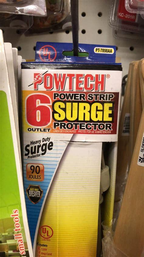 surge strip power protector outlet comment