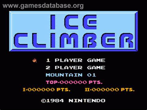 Ice Climber Nintendo Nes Games Database
