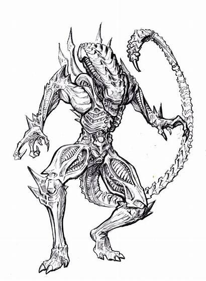 Alien Scorpion Neca Xenomorph Snake Aliens Series