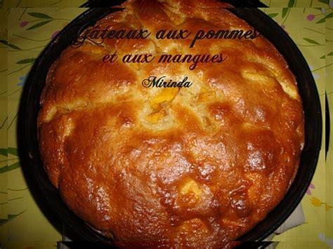 cuisiner mangue recette gâteau aux pommes et aux mangues