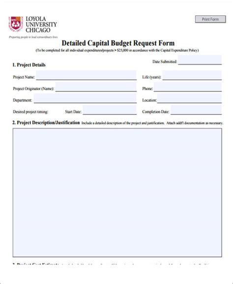 budget request form template mennissinfo