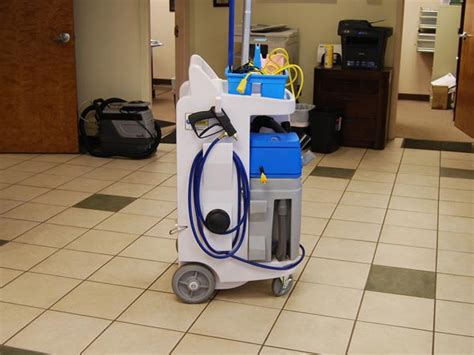 cleaning caddy with vacuum gt ecolab caliber equipment