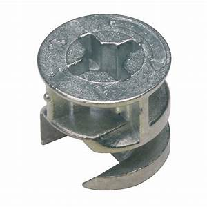 boitiers excentriques diametre 15 mm emuca bricozor With systeme d assemblage meuble