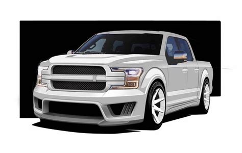Saleen Teases F-150 Fans With New Stx Sport Truck