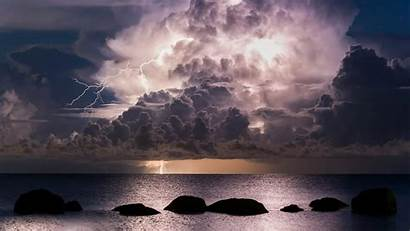Clouds Storm Ocean Wallpapers 1080p Laptop Nature