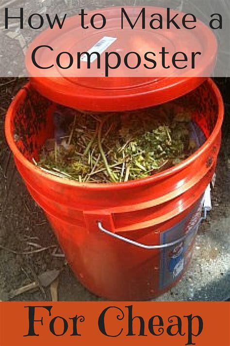how to make your own compost how to make your own composter for cheap