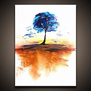 Timeless, Landscape Abstract Art Painting Video Lesson by ...