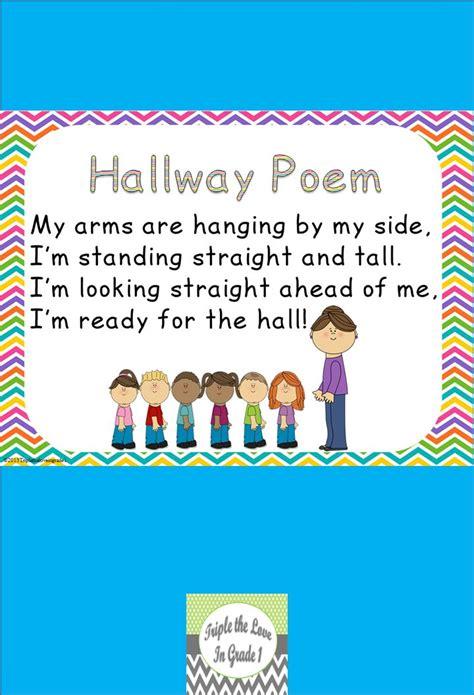 freebie hallway poem preschool mouths 475 | d5438cb00e0e4736d5e47cd4b8e0e363